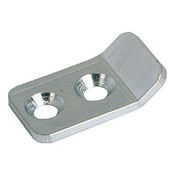 Kipp Clamp for Adjustable Latch, Screw-on Holes Visible, Steel, Style B (1/Pkg.), K0046.9242271