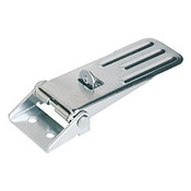 Kipp Adjustable Latch, Screw-on Holes Visible, Grooved Top, Steel, Style C - For Padlock (1/Pkg.), K0048.3631391