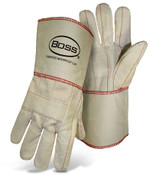 Hot Mill Safety Gloves w/ Gauntlet Cuff by BOSS
