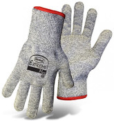 BOSS Extreme Plus Cut Resist Knit Gloves, HPPE Fiber Blend, Cut Level 3,  Size Large (12 Pair)