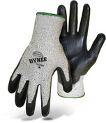 BOSS Dynee Mytee HPPE Blend Cut Resistant Gloves w/ PU Coated Palm & Fingers, Size Large (12 Pair)