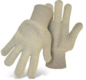 BOSS Heavyweight Natural Terry Cloth Cotton Gloves, One Size (12 Pair)