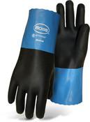 """BOSS 11"""" Lightweight Neoprene Gloves, Wet Grip, Knit Lined, Medium (12 Pair)"""
