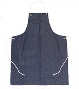 "29"" x 38"" Denim 2 Pocket Shop Apron, One Size (12 Aprons)"