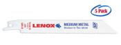 Lenox 12 x 3/4 x .035 Metal Cutting Reciprocating Saw Blades, 18 TPI (5/Pkg.)