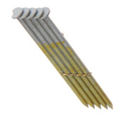 "2"" x .113"" 28-degree Wire Weld Offset Round Head Nails, Bright Coated, Ring Shank (2,500 Pcs./Box)"