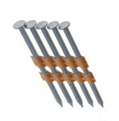 "2-1/2"" x .120"" 21-Degree Plastic Strip Round Head Nails - 304 Stainless, Screw Shank (2,000 Pcs./Box)"