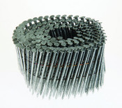 "1-3/4"" x .080"" 15-Degree Wire Weld Coil Nails - Hot Dipped Galvanized, Ring Shank (3,000 Pcs./Box)"