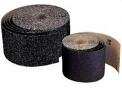 "Floor Sanding Rolls - Silicon Carbide Paper - 12"" x 50 YD, Grit/ Weight: 80F, Mercer Abrasives 403080 (1/Pkg.)"