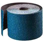 "Floor Sanding Rolls - Zirconia Cloth - 12"" x 25 YD, Grit/ Weight: 100X, Mercer Abrasives 404100 (1/Pkg.)"