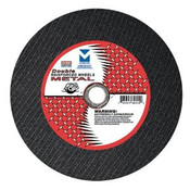 "12"" x 1/8"" x 1"" Stationary Saw Cut-Off Wheel - Double Reinforced,  Mercer Abrasives 600060 (10/Pkg.)"