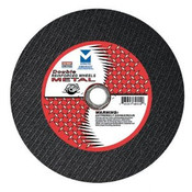 "12"" x 3/32"" x 1"" Low Horsepower Chop Saw Wheel - Double Reinforced, Mercer Abrasives 602010 (10/Pkg.)"