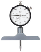 "Mitutoyo 0-8"" Dial Depth Gage, Base Length - 4.0"" (Qty. 1)"
