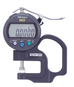 """Mitutoyo Absolute IDS Type Digimatic Thickness Gage 0-.47"""", Flat/Spherical Anvil (Qty. 1)"""