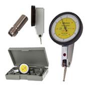".03""/.01 mm Inch/Metric Quick-Set Dial Test Indicator Set, Horizontal"