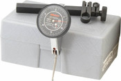 .06/.0005, 0-15-0 TruTest Black Face Dial Test Indicator Set, Long Point