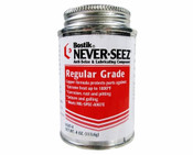 Never Seez Regalar Anti-Seize Lubricant in easy to use brush-top bottle.