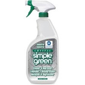 Crystal Simple Green color and fragrance free cleaner