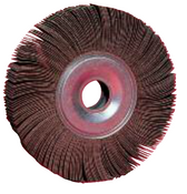 "Flap Wheels - Center Hole - 6"" x 2"" x 1"", Grit: 80, Mercer Abrasives 370100 (Qty. 1)"