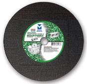 "12"" x 1/8""(5/32) x 1"" Cut-Off Wheel for Portable Gas Saw - Double Reinforced - Masonry, Mercer Abrasives 605010 (10/Pkg.)"