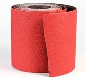 """CeraFlame Premium Ceramic Floor Sanding Rolls - 8"""" x 25 YD, Grit/ Weight: 80X, Mercer Abrasives 464036 (1/Pkg.)"""