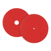 "CeraFlame Premium Ceramic Floor Sanding Edger Discs - Bolt-On 7"" x 5/16"" Hole, Grit/ Weight: 100F, Mercer Abrasives 465100 (25/Pkg.)"