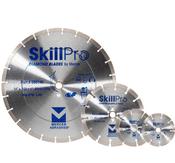 "SkillPro Segmented Diamond Blades - 4"" x .070 x 7/8"", 5/8"", Mercer Abrasives 666400 (25/Pkg.)"