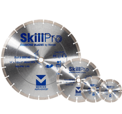 "SkillPro Segmented Diamond Blades - 14"" x .120 x 1"", 20mm DPH, Mercer Abrasives 666140 (10/Pkg.)"