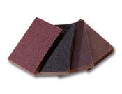 """Flexible Sanding Sponges - 3"""" x 4"""" x 1/2"""", Grade: Fine, Grit: 100, Mercer Abrasives 281FIB (120/ Bulk Pkg.)"""