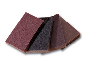 "Flexible Sanding Sponges - 3"" x 4"" x 1/2"", Grade: Medium, Grit: 80, Mercer Abrasives 281MEB (120/ Bulk Pkg.)"