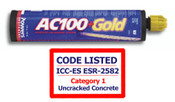 Powers Fasteners - 8462SD-PWR - AC100+ Gold 5 oz. (150ml) Push-Pak (12/Pkg.)