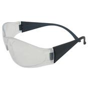 ERB Boas Original Safety Glasses, Gray Frame, Clear Lens 15281 (12 Pr.)