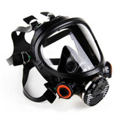 3M 7800S-S Full Facepiece Silicon Respirator, Reusable, Small (1 Mask)