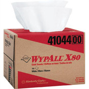 WypAll® X80 Towels, Brag Box, White, 160/Box