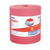 WypAll® X80 Towels, Jumbo Roll, Red, 475/Roll