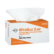 "WypAll® L40 Wipers, 1/4-Fold, 12 1/2"" x 12"", 18 Packs/56 ea"