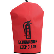 "Heavy-Duty Extinguisher Cover, 18 1/2"" x 7"""