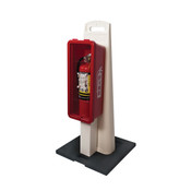 Fire Extinguisher Cabinet/Stand Combo (For 10 lb Extinguisher)
