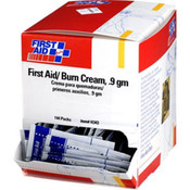 First Aid/Burn Cream, 0.9 g, 25/Box