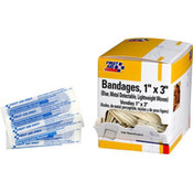 "Metal Detectable Light Woven Bandage, 1"" x 3"", 100/Box"