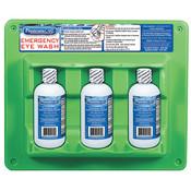 Eyewash Station, Triple Bottle, 8 oz