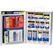 112-Piece Medium Business First Aid Kit (Metal)