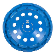 "Segmented Diamond Cup Wheels - 7"" x 5/8""-11, Mercer Abrasives 665700 (1/Pkg.)"
