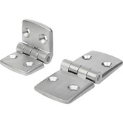 Kipp Aluminum Hinge, K0580.502828 (1/Pkg.)