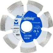 "Tuck Point Diamond  Blades - 4"" x .250 x 7/8"", 20mm, 5/8"", Mercer Abrasives 669400 (1/Pkg.)"