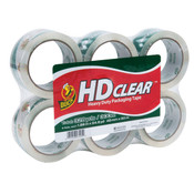 "HD Clear™ High-Performance Packaging Tape, 1-7/8"" x 54.6 yd. (6/Pkg.)"