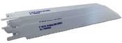 """Blu-Mol Bi-Metal Reciprocating Saw Blades (All-Purpose) (6479), 10/14 TPI, 8"""" x 3/4"""" x 0.035"""" (10/Tube)"""