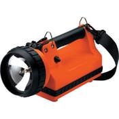 LiteBox Incandescent Flashlights, Vehicle Mount, DC, 8 W Spot, Orange