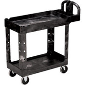 "Rubbermaid Heavy-Duty Utility/Service Cart, 39""L x 33 1/4""H x 17 7/8""W"