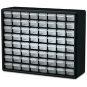 Plastic Storage Cabinet, 44 Drawer (12 Large/32 Small)